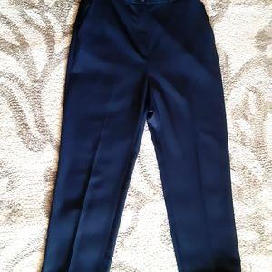 BROOKS Dark Navy Wool Trousers